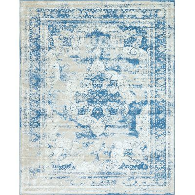 Mistana Brandt Tibetan Blue Area Rug Rug Size Rectangle 8