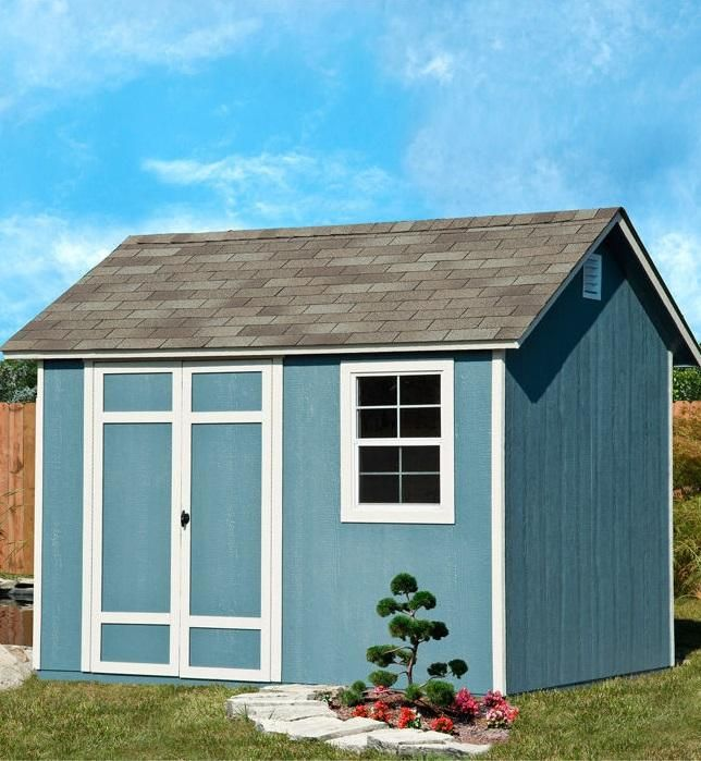 The Brampton 10 X 8 Wood Storage Shed By Yardline Is The Perfect