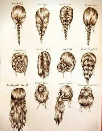 Perfectos peinados con trenza :)