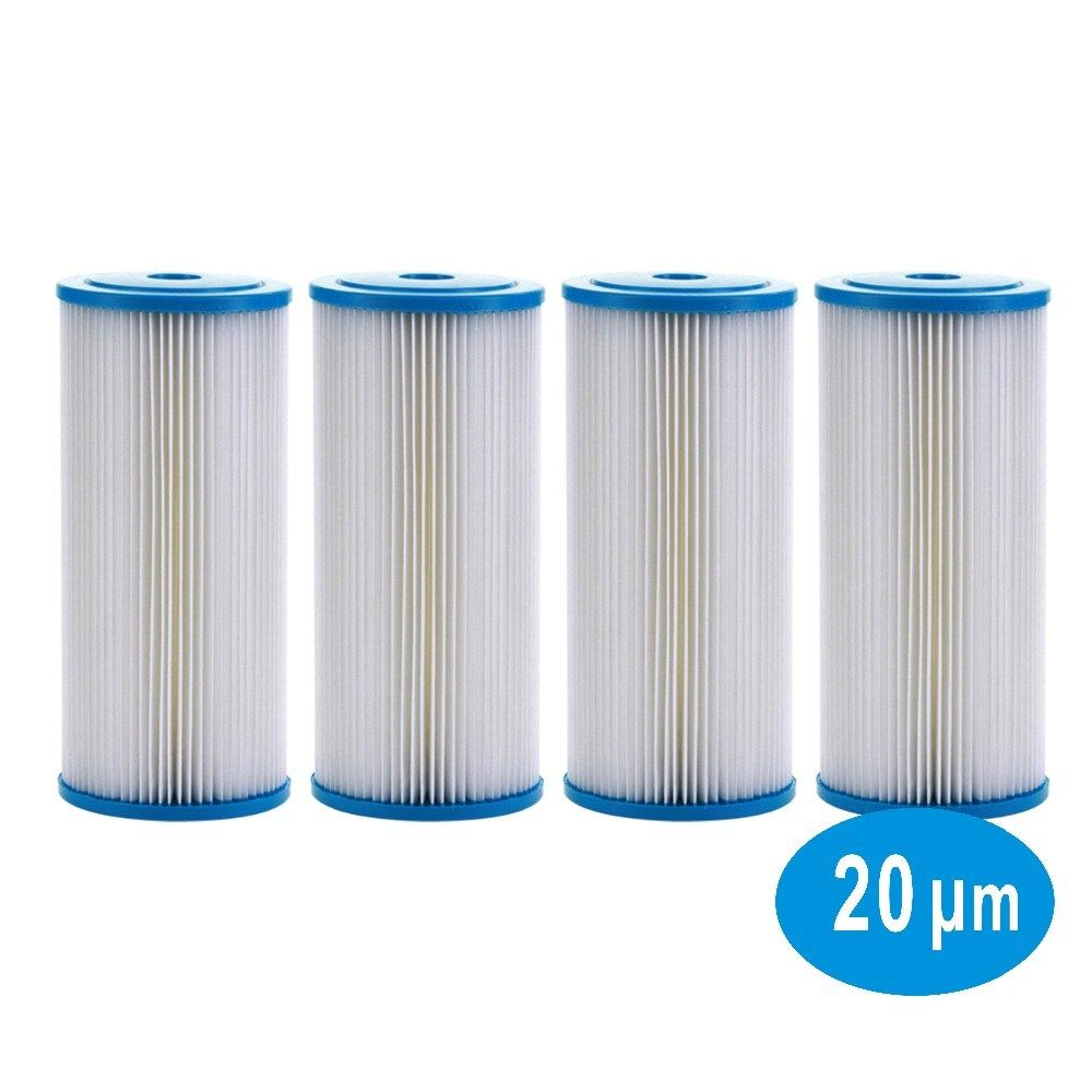 20 Micron Whole House Sediment Pleated Water Filter Washable