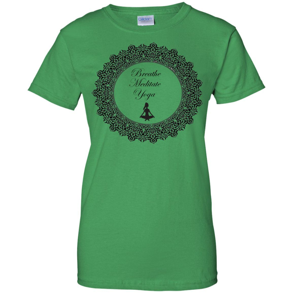 3B Yoga Ladies 100% Cotton T-Shirt