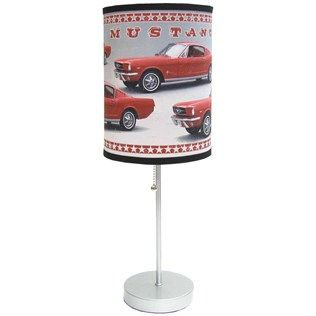 Lamp In A Box Ford Red Mustang Table Lamp | Shop Hobby Lobby