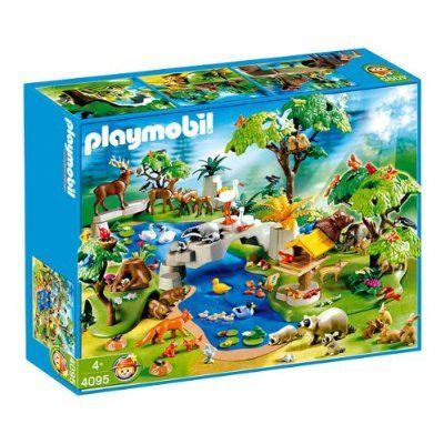 Playmobil animals playmobil 4095 huge animal paradise for Piscine playmobil 5575
