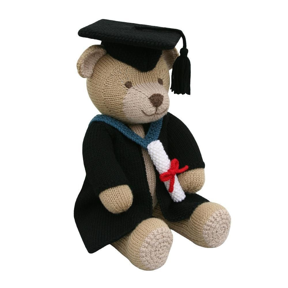 Graduation Gown (Knit a Teddy) | Gowns, Knitting patterns and Patterns