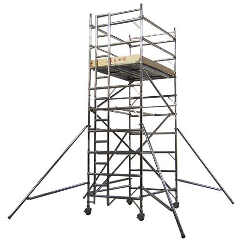 Mobile Scaffolding Structures Are A Kind Of Supported