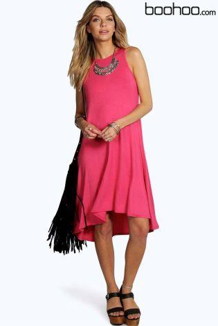 b1447028b Buy Boohoo Amanda Sleeveless Dip Back Swing Dress online today at Next:  Israel