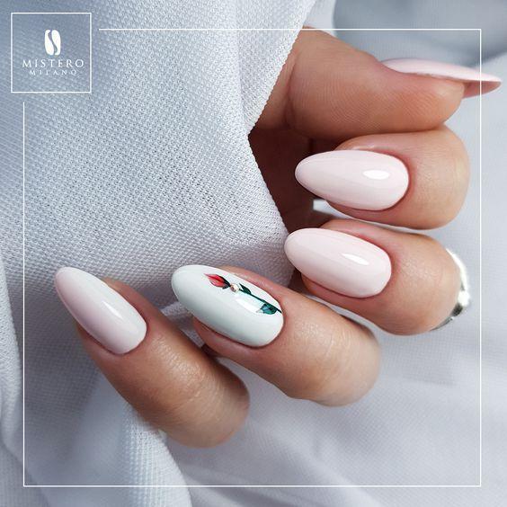 70 Stunning Designs For Almond Nails You Won T Resist S Izobrazheniyami Dizajnerskie Nogti Nogti Milye Nogti