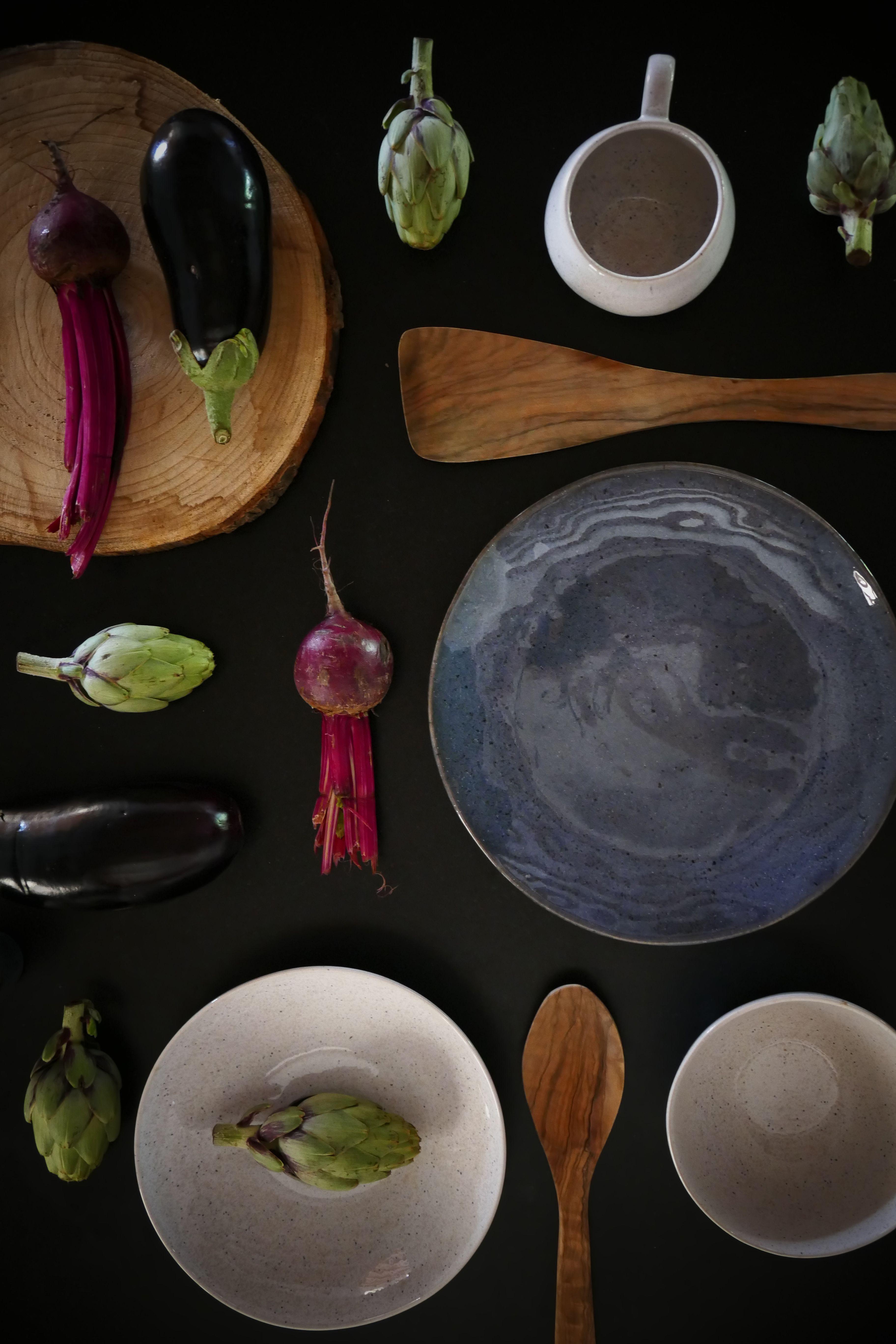 Keramik Geschirr Handgemacht Portugal Pottery Teller Schüsseln Tassen LÓnja Lonjaliving De Gedeckter Tisch Steingut S Plates Pottery Plates Pottery