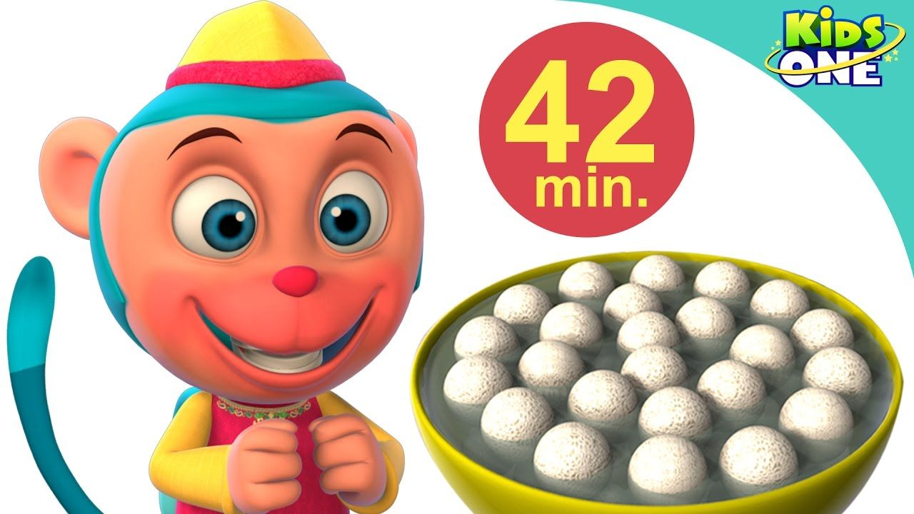 42 Minutes Hindi Rhymes Collection | Bandar Mama and many more|  3D Rhymes