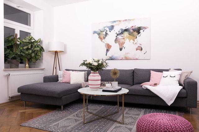 Unser Wohnzimmer im Frühlingsoutfit (Josie Loves) Apartments
