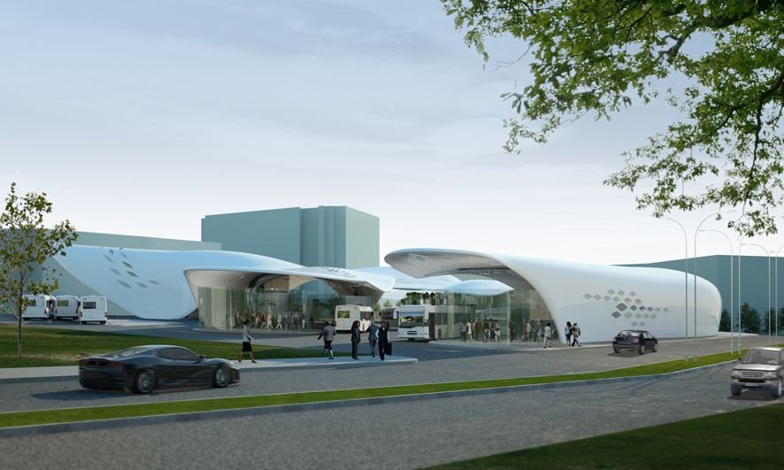 Gallery Of Stoke On Trent Bus Station Proposal By Austin