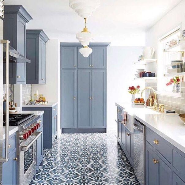 Wolf Gray Kitchen Cabinets Blue Kitchen Designs Blue Kitchen Walls Kitchen Inspirations