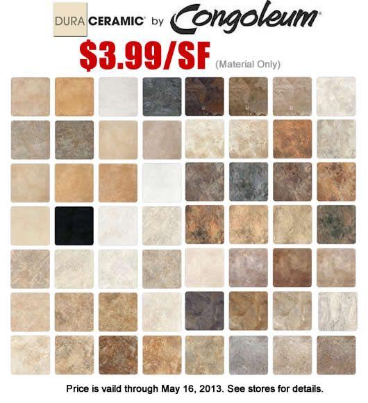 Duraceramic Tile Flooring   Tile Design Ideas