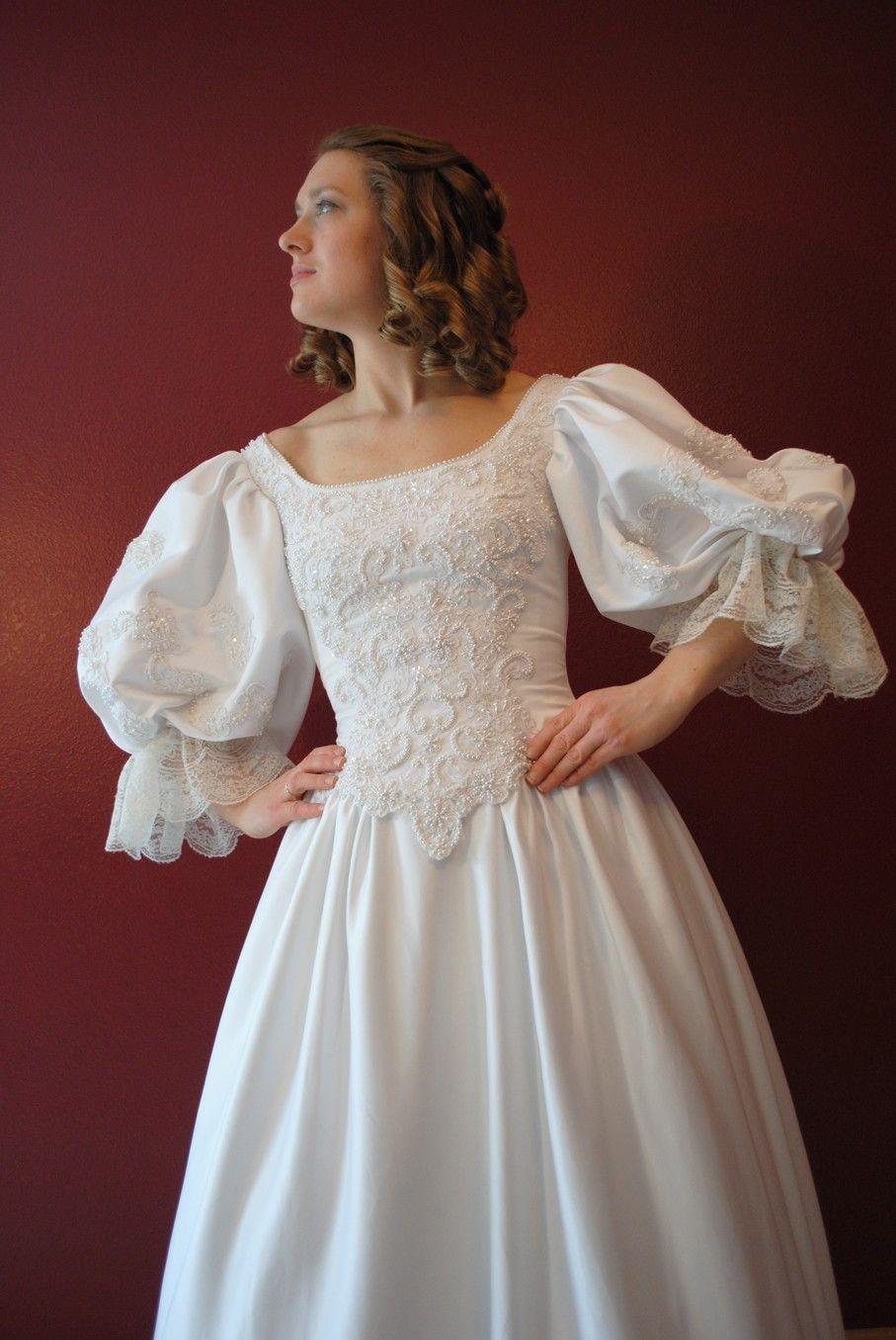 1700s Wedding dress with lots of beading. | Wedding | Pinterest