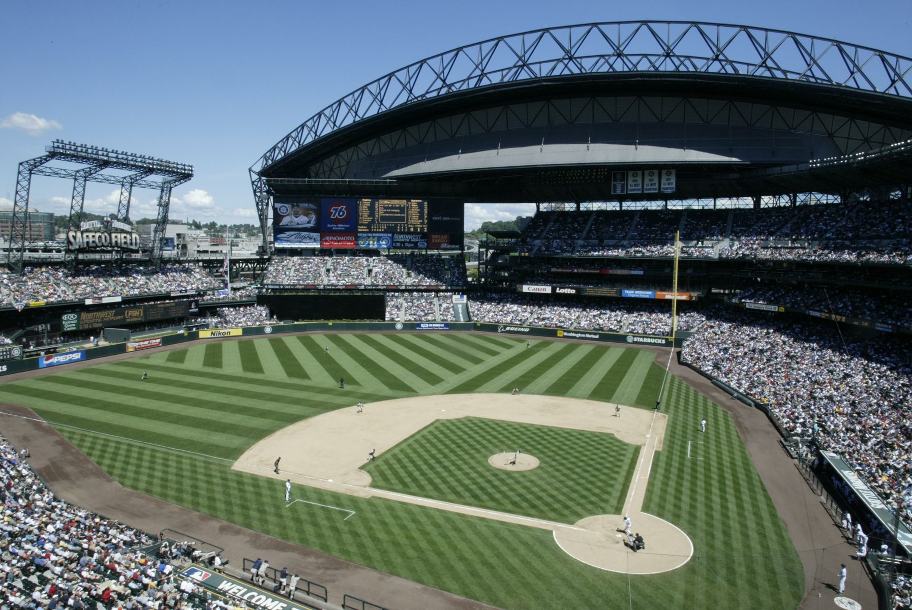 e of the most beautiful ballparks Safeco Field I pletely agree