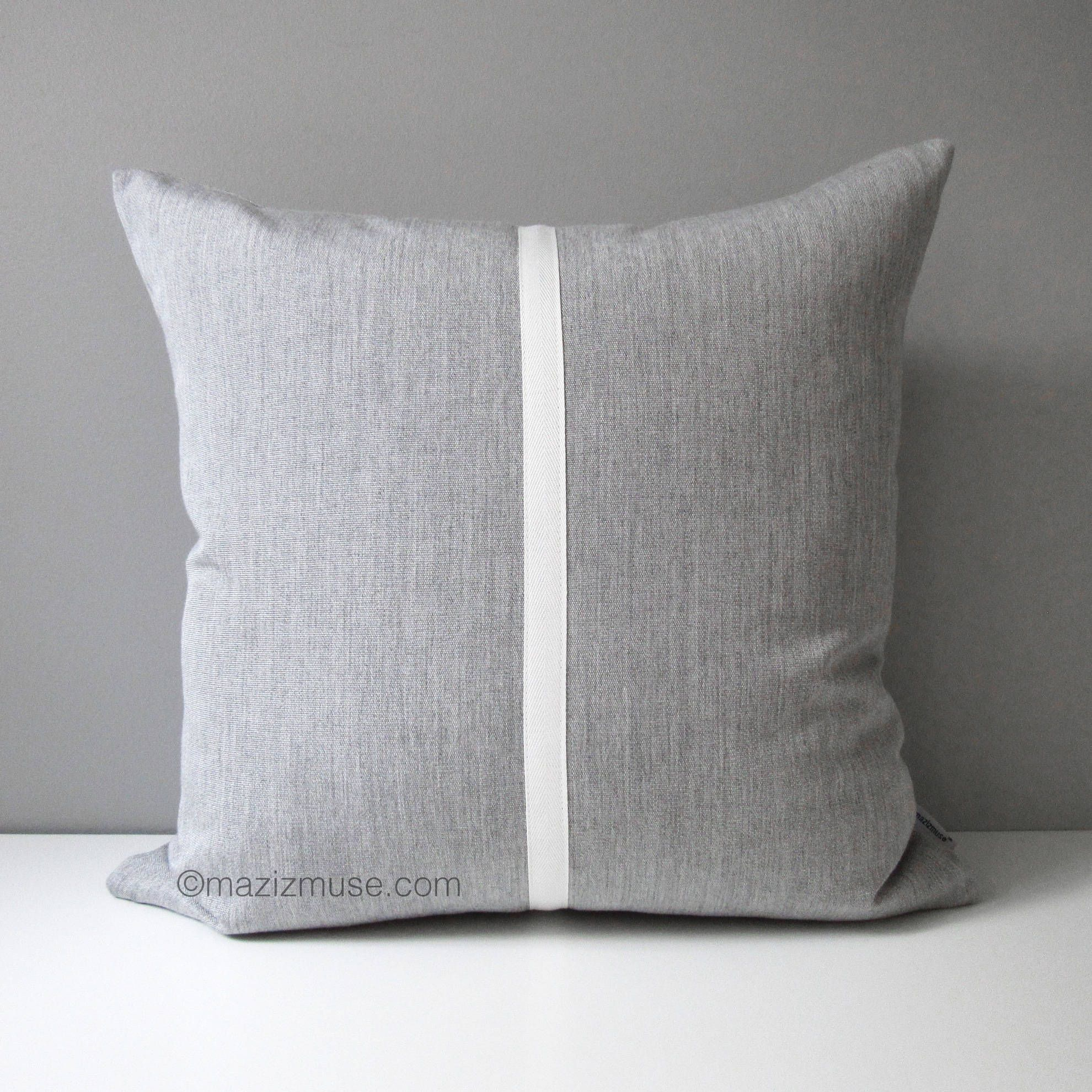 Granite Grey Outdoor Pillow Cover