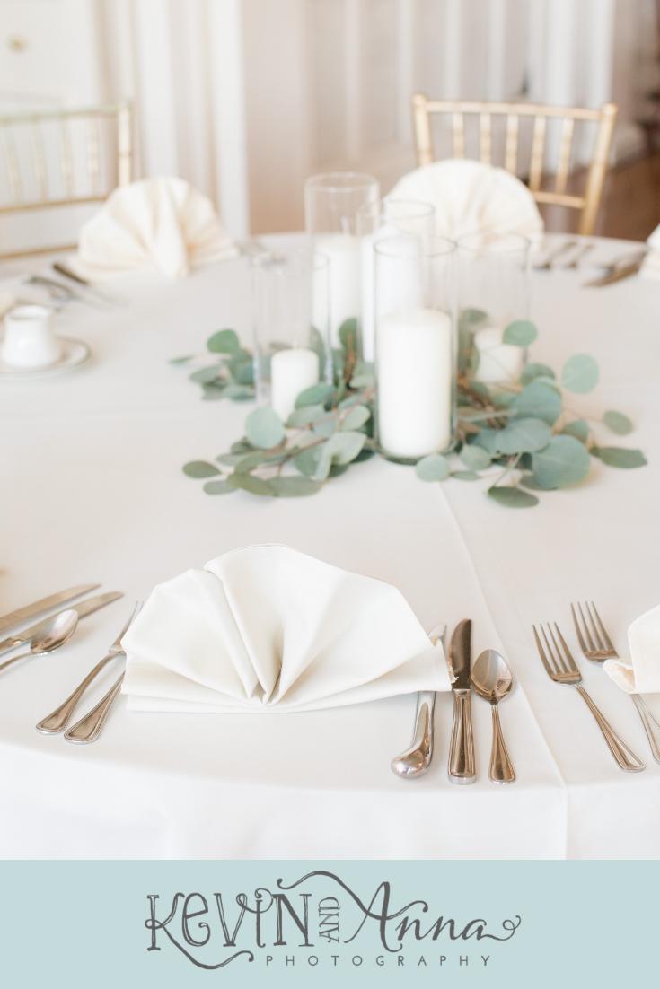 September Wedding at the Lexington Country Club in Lexington, Kentucky #whitecandleswedding
