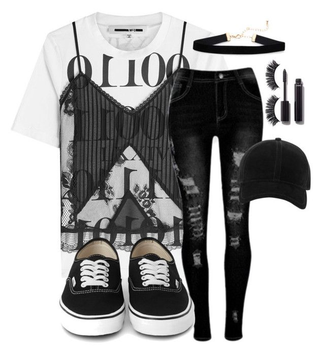 """""""Untitled #2183"""" by mfr-mtz ❤ liked on Polyvore featuring McQ by Alexander McQueen, Battington, Chanel and rag & bone"""