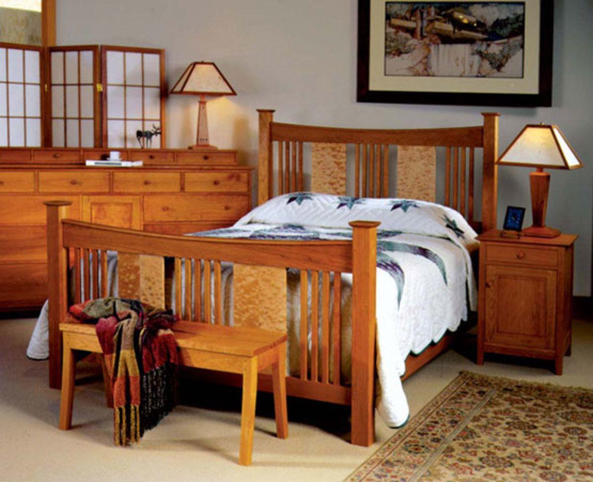 The Arts Crafts Bedroom Bedroom Interior Furniture Mission Style Furniture