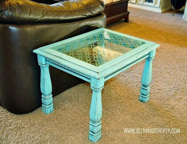Glazen Meubels ~ Diy furniture : diy etched glass table diy furniture pinterest