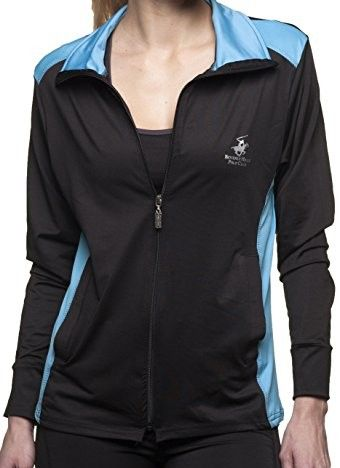 e0f8d7b58b638 Beverly Hills Polo Club Womens Workout and Yoga Jacket-BH224  Yoga ...