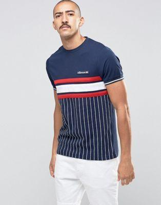Ellesse Striped T-Shirt  73f31f5d9126