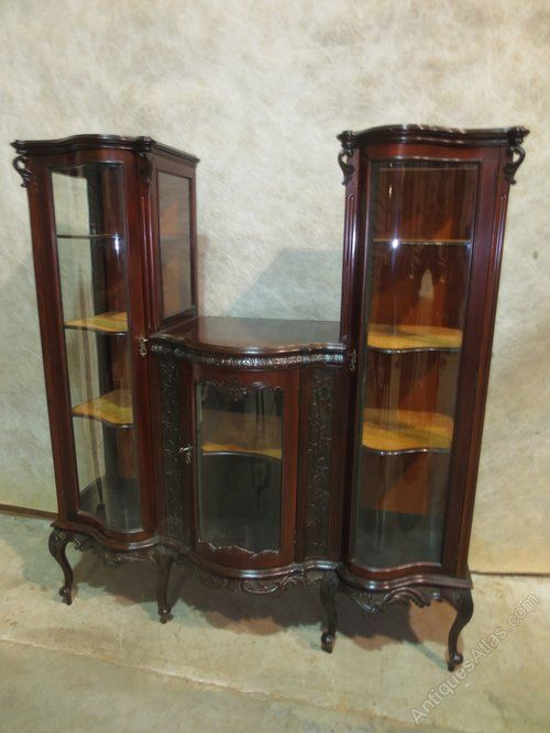 French Mahogany Display Cabinet Pinterest Display Cabinets