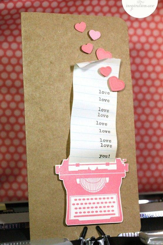 Pinterest Valentines Cards Diy Cards Card Craft