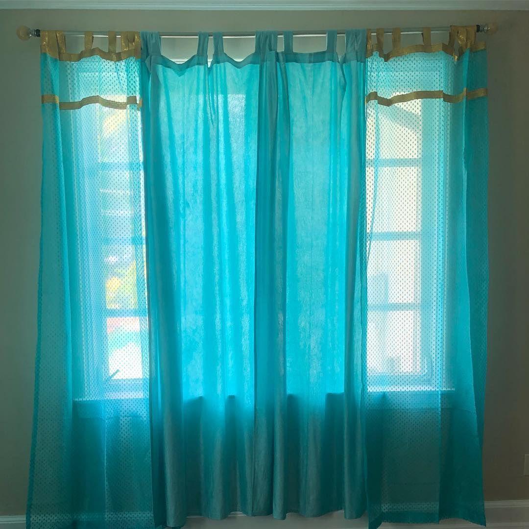 Sheer Curtain Sheer Sari Curtain Sheer Organza Sari Curtains
