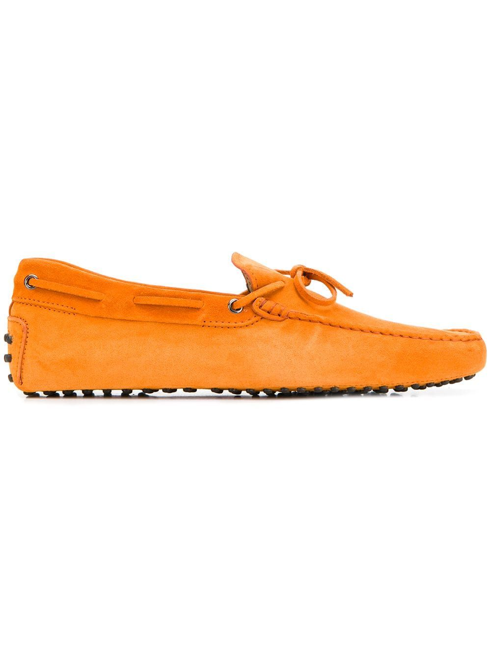 68a30bfab16 TOD S TOD S SUEDE GOMMINO DRIVING SHOES - ORANGE.  tods  shoes ...