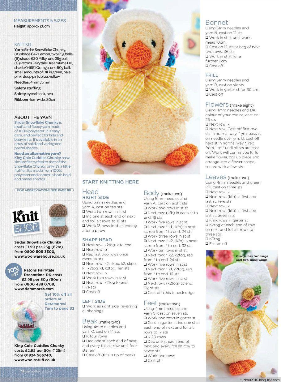 Lets Knit №78 April 2014 - 紫苏 - 紫苏的博客   Free   Pinterest   Sol