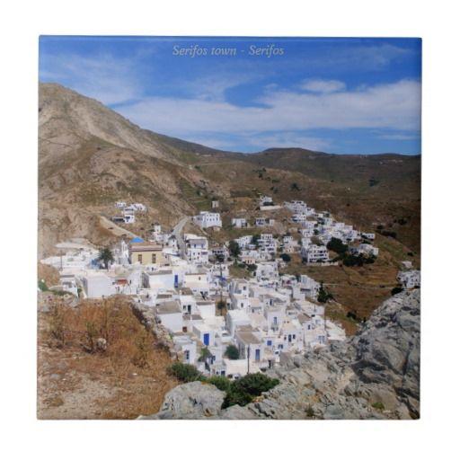 Serifos town – Serifos Ceramic Tile
