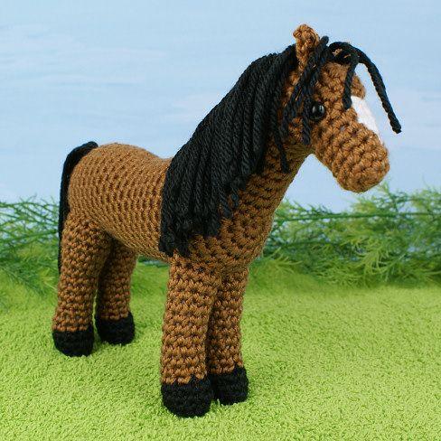 Horse Crochet Pattern Lone Ranger Pinterest Crochet Patterns