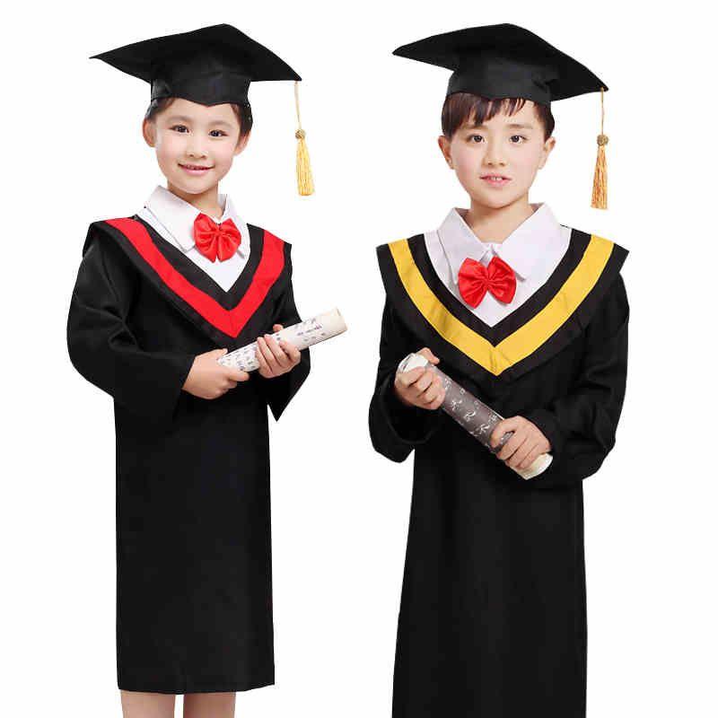 Dr Children clothing Graduation gown Dr Kindergarten suit A ...