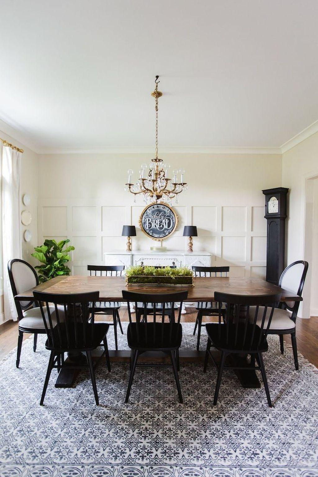 42 Classy Black Dining Room Design Ideas In 2020 Luxury Dining Room Dining Room Remodel Dining Room Design