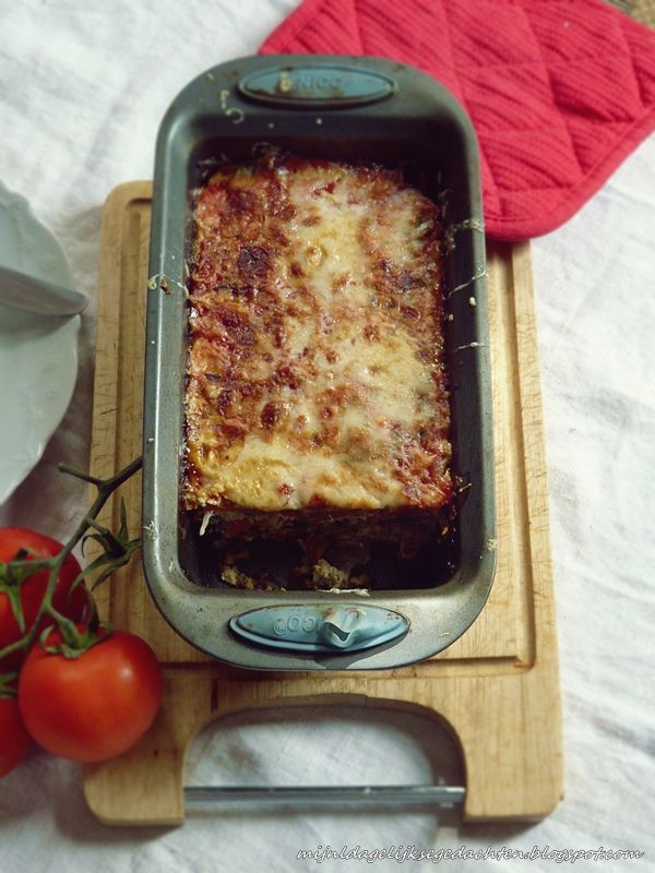 Chicken Mushroom Loaf with Cheese