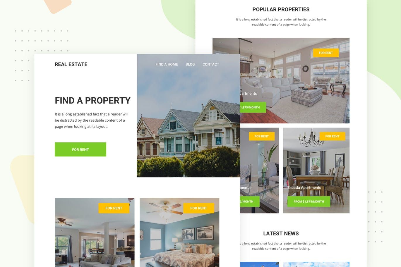 Real Estate Email Newsletter By Ra Themes On Envato Elements Real Estate Email Newsletter Template Email Newsletters