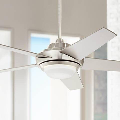 Ascend Brushed Nickel Led Ceiling Fan