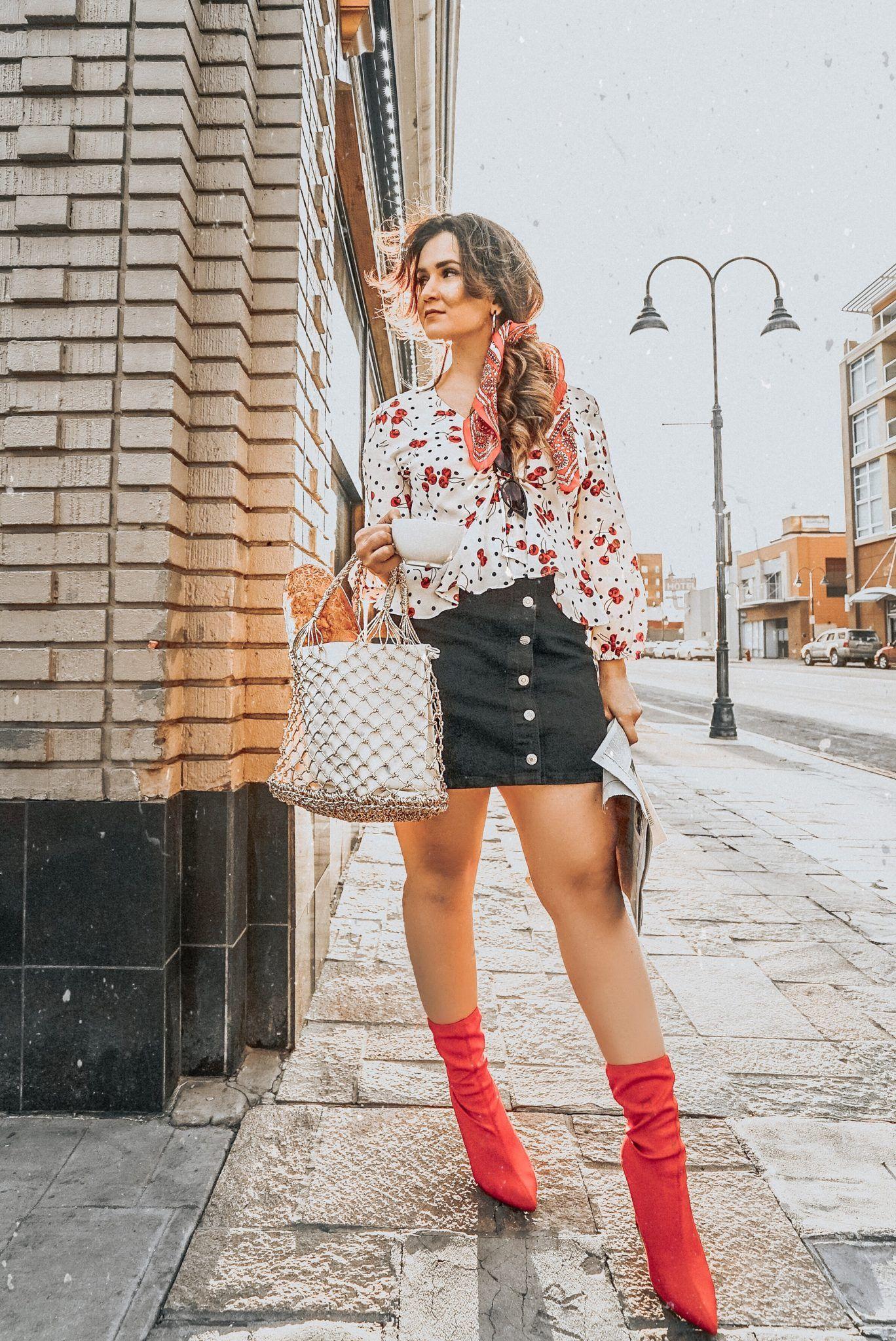 Innenfarben für die halle two ways to style red sock booties  fashion blogger group board