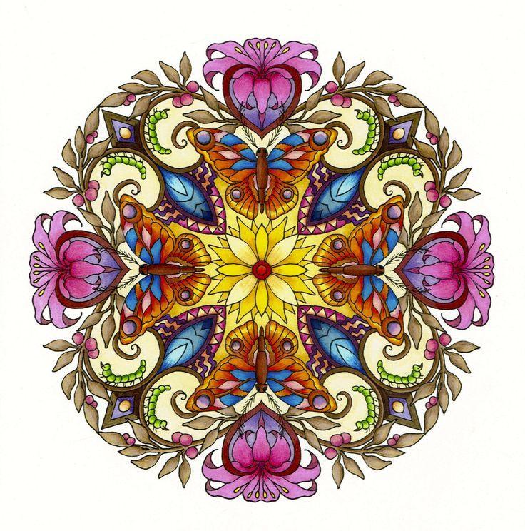 7b32733916c5ca814da9ed9b60793d1a.jpg (736×744) | Mandala ...