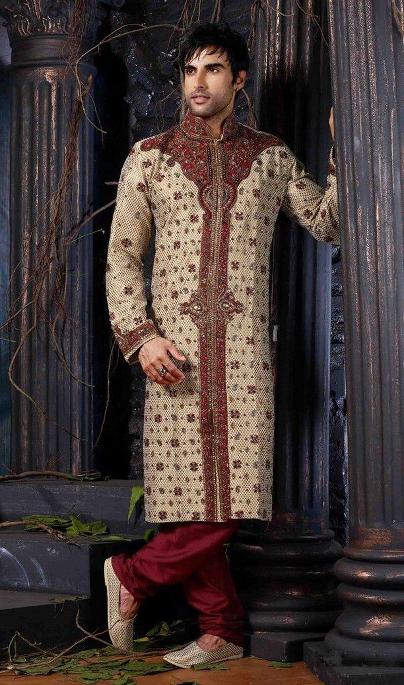 Groom Sherwani-A Dream Attire Of Indian Groom For Indian wedding ...