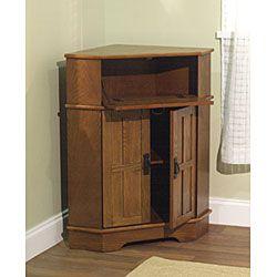 Simple Living Mission Corner Cabinet 24 Long 18 Wide