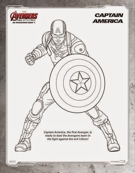 How Excited Are You For The Avengers Ageofultron Marvel Captain America Coloring Pages Avengers Coloring Pages Avengers Coloring