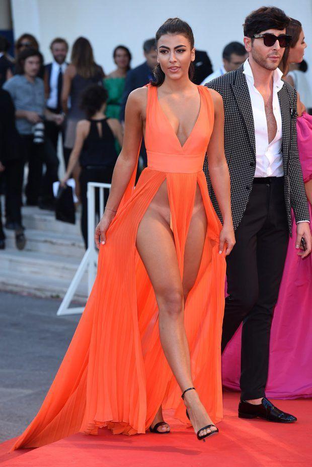 Prom Dress with No Underwear