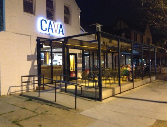 Outside Cava Tenleytown Which Opened October Of 2012
