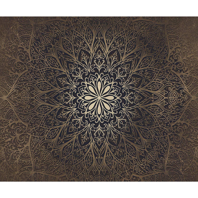 decomonkey   Fototapete selbstklebend Mandala XL ...