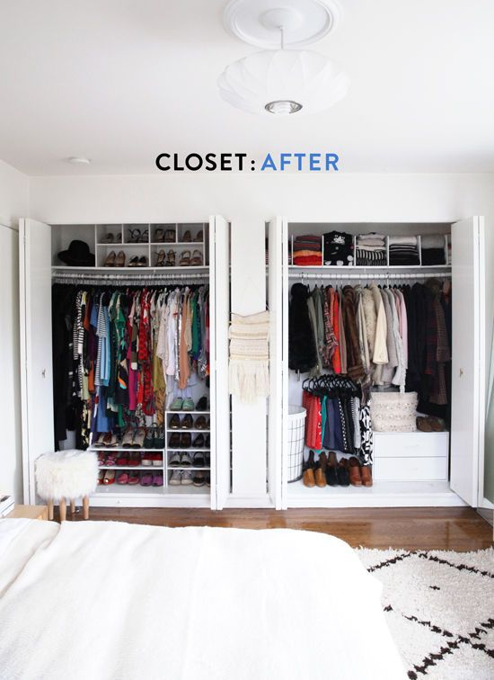 Closet Makeover Designlovefest Home Sweet Home Pinterest Organizing Organizations And