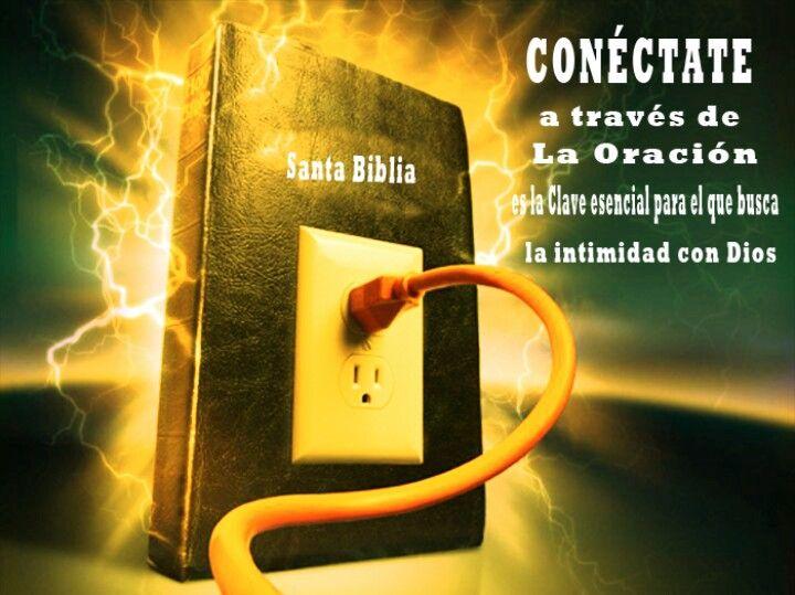 Conéctate a través de la Oración, es la clave esencial para el que busca la Intimidad con Dios.