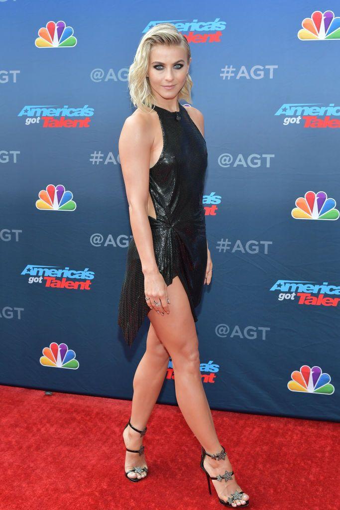 Julianne Hough attends NBC's America's Got Talent Season 14...