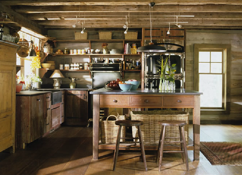 Rustic Cottage Kitchens Amelia Handegan Mountain Cabin